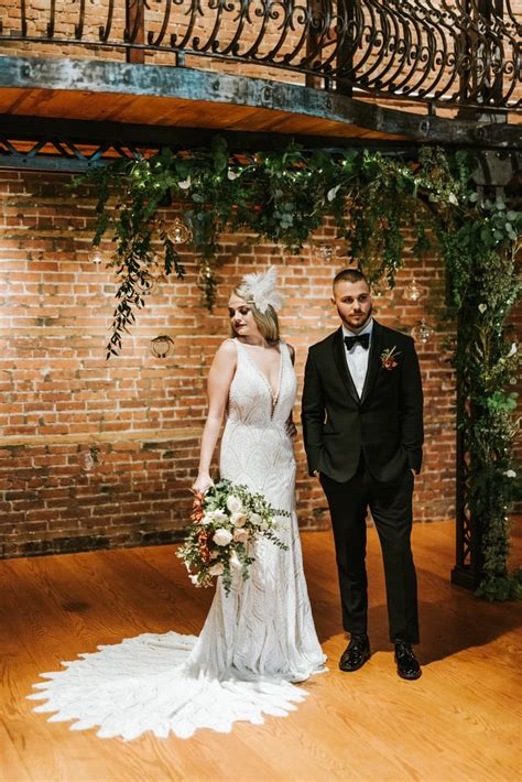 Great Gatsby Themed Wedding POPSUGAR Love &Photo 42