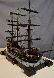 Black Pearl MOC. More images on page. | LEGO sailing ship ...