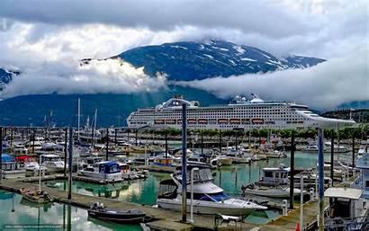 Alaska Skagway Port Desktop Docked Ship Wallpapers