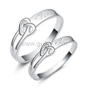 4mm wedding band engravable sterling silver engagement knot
