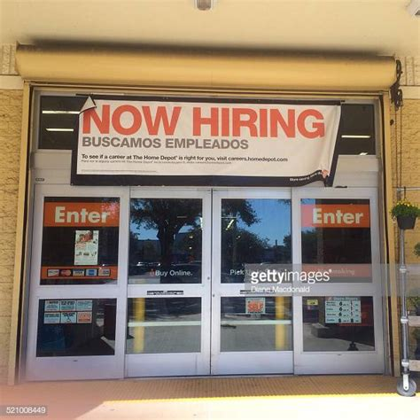 Home Depot Now Hiring by Hiring Sign Stock Photos And Pictures Getty Images