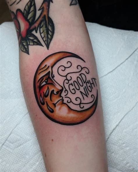 crying moon aperry  gentlemen tattoos north lima