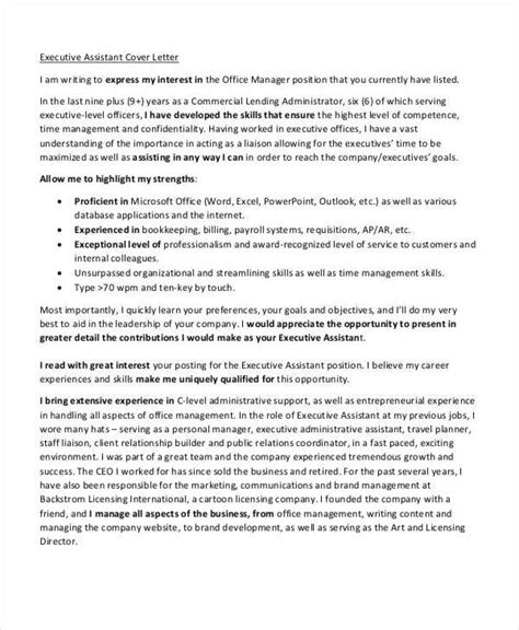 Executive Administrative Assistant Resume Cover Letter by 61 Executive Resume Templates Free Premium Templates