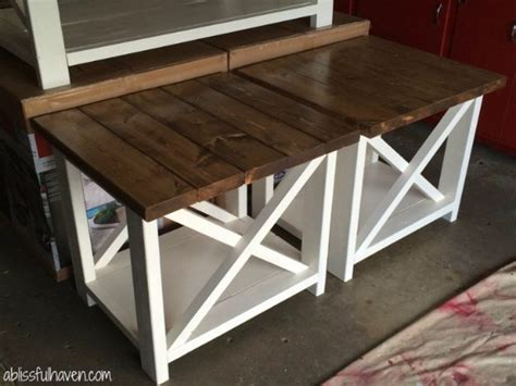 31 Rustic Diy Home Decor Projects: 31 DIY End Tables