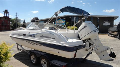 Deck Boat For Sale In Wisconsin by Hurricane Sun Deck 217 Boats For Sale In Wisconsin