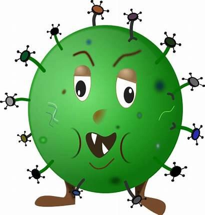Germ Cartoon Clipart Transparent Animals Background Cliparts