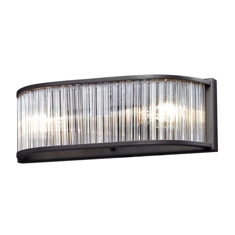 titan lighting utica 3 light polished chrome wall mount