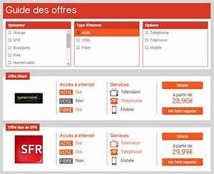 Comparatif Offres Box : comparatif internet adsl france ~ Medecine-chirurgie-esthetiques.com Avis de Voitures