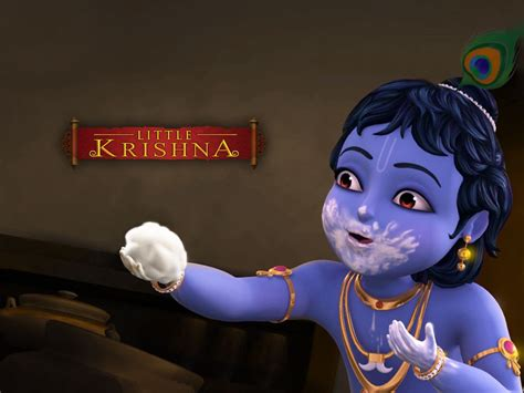 Cute Cartoon Krishna