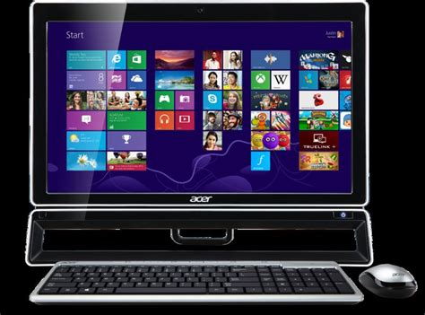 ordinateur de bureau all in one ordinateur de bureau acer aspire z3770 all in one 21 5