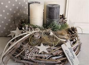 Adventskranz 2017 Farben : adventskranz merry christmas z pfchen gestalten und grau ~ Whattoseeinmadrid.com Haus und Dekorationen