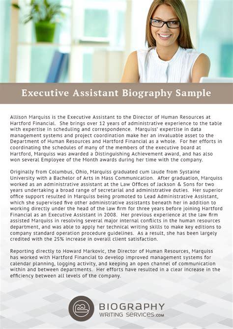 Sle Executive Resume by Sle Executive Bio Templates 28 Images Salesperson