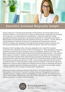 administrative assistant bio samples pertaminico With dentist biography template