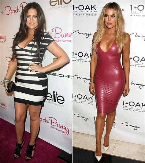 Khloe Kardashian Workout Pictures: See Her Before & After ...