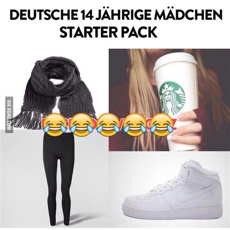 german yo girl starter pack gag