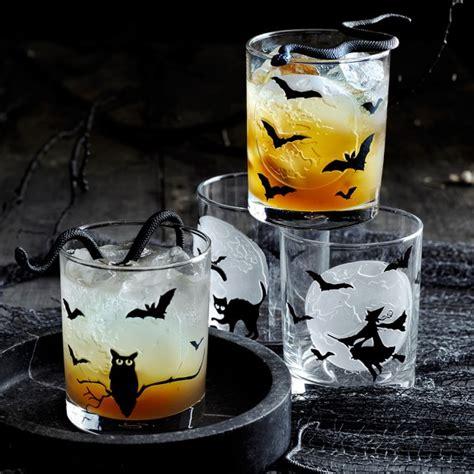 halloween tumblers set   williams sonoma