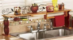 kitchen over the sink shelf kitchen ideas