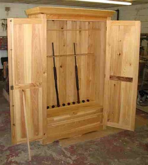 diy gun cabinet plans excellent gun cabinets you can start anything you