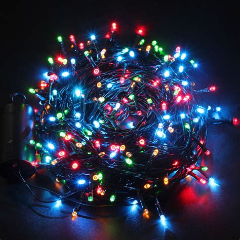 battery operated christmas lights w timer 300 led christmas xmas lights outdoor string light battery