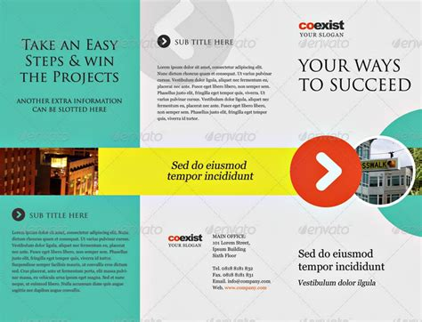 Tri Fold Brochure Template Psd by 20 Brochure Exles In Psd