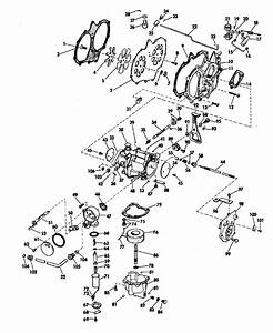 Johnson Carburetor Group Parts For 1970 40hp 40e70a