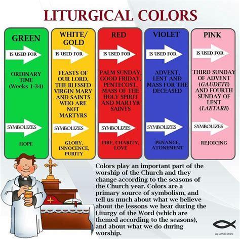 catholic liturgical colors liturgical colors catholicism catholic