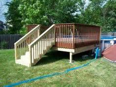 deck n out on pinterest above ground pool decks above