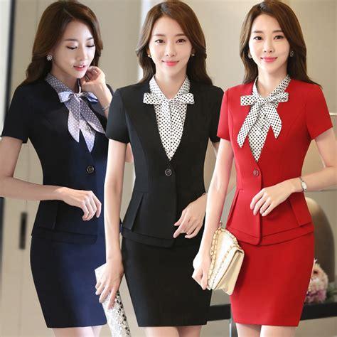 hotel front desk uniforms hotel uniform summer female front desk manager set cashier