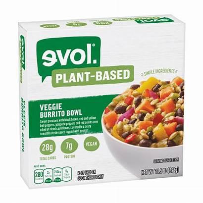 Bowl Veggie Burrito Frozen Based Plant Evol