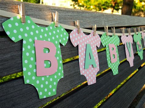 baby shower decorations green baby showers on whimsical baby showers