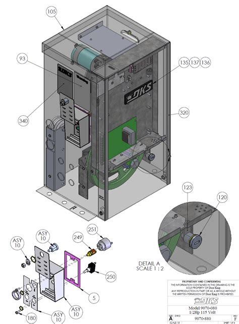 door king gate operator doorking parts slide gate operator 9070 080 doorking
