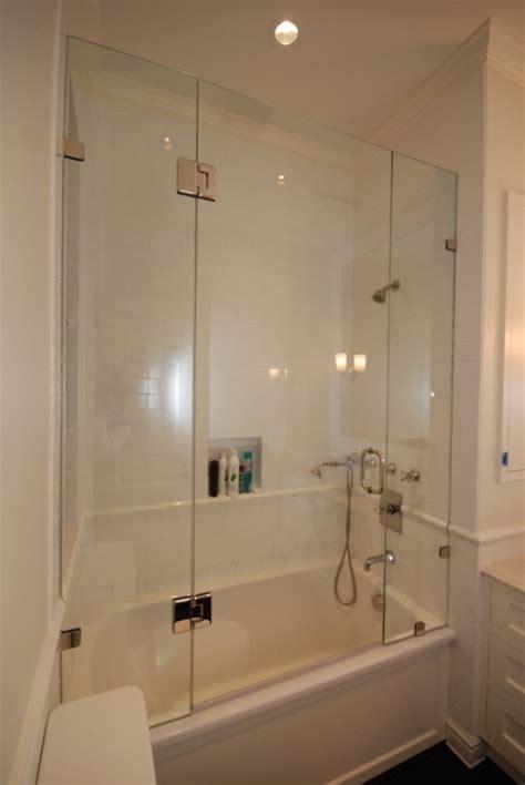 frameless glass bathtub enclosures in maryland river