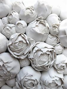 Polymer Flower Sculpture and Tiles Angela Schwer