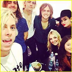 Sofia Carson Reunites With Ross Lynch & R5 In Argentina ...