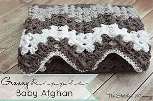 Random Stripe Granny Ripple Afghan  U00b7 How To Make A Baby