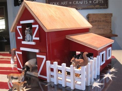 17 Best Images About Wooden Toy Barn On Pinterest