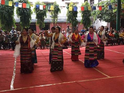 tibetans in delhi celebrate losar central tibetan