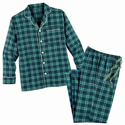 Plaid Flannel Pajama Outfit Lounge Comfortable Gift