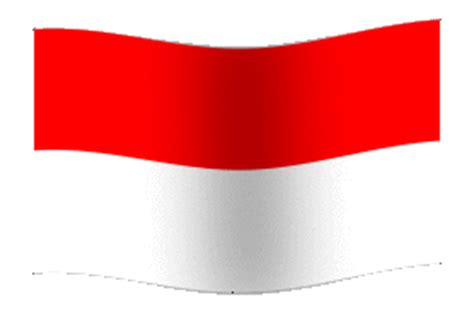 animated indonesia flags indonesian clipart