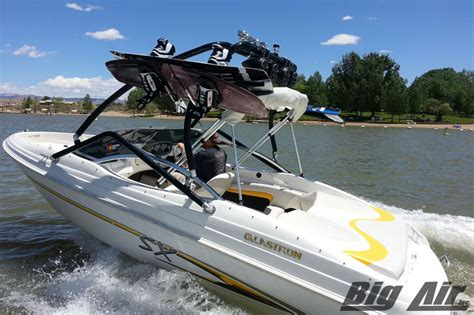 Glastron Boat Wakeboard Tower by Universal Wakeboard Tower Vapor Tower Big Air Wake Towers