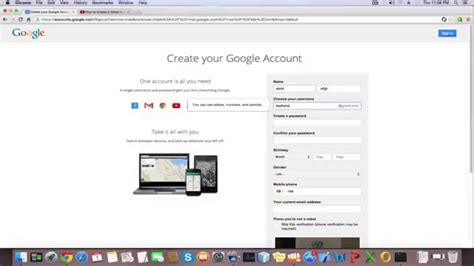How To Create A Gmail Account 2015  How To Make A Gmail 2015 Youtube