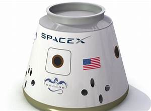 SpaceX Falcon 9 Dragon Capsule 3D Model .3ds .lwo .lw .lws ...