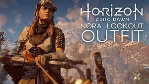 Horizon Zero Dawn - Nora Lookout Outfit u0026 Longshot Bow (Pre Order Bonus DLC) - YouTube