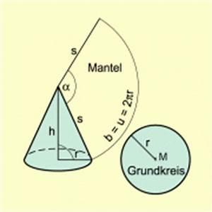 Volumen Kegel Berechnen : kreiskegel in mathematik sch lerlexikon lernhelfer ~ Themetempest.com Abrechnung