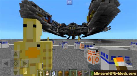 star wars robots addon  minecraft pe