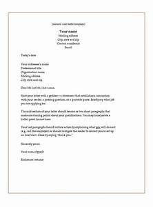 8 best images of sample basic cover letter examples for Basic cover letter template free