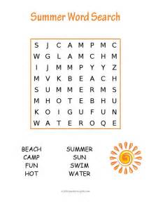 Halloween Themed Brain Teasers by Easy Summer Word Search