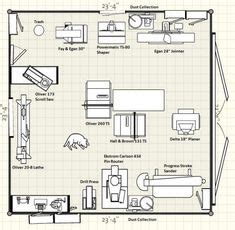 woodshop design layout   kitchen renovation project