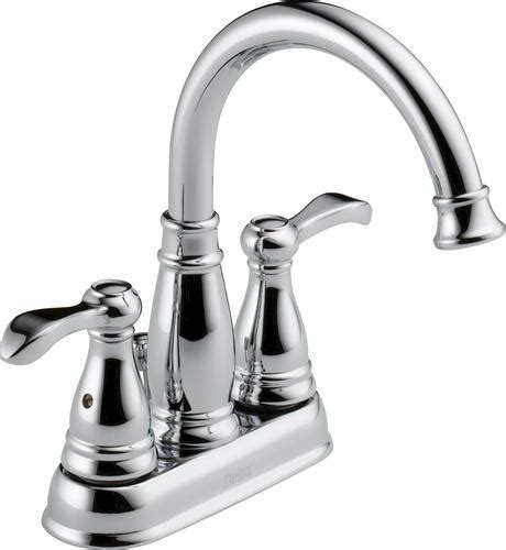 menards 4 bathroom faucets delta 174 porter 174 4 in 2 handle high arc bathroom faucet at