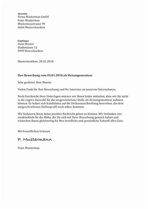 Bewerbung Nach Ausbildung Muster by 16 Absage Bewerbung Ausbildung Muster Sporting Lincs